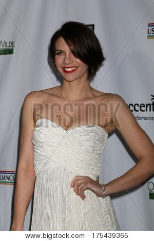 LOS ANGELES - FEB 23:  Lauren Cohan at the 12th Annual Oscar Wilde Awards at Bad Robot Studios on February 23, 2017 in Santa Monica, CA