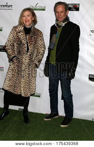 LOS ANGELES - FEB 23:  Cathaerine O'Hara, Bo Welch at the 12th Annual Oscar Wilde Awards at Bad Robot Studios on February 23, 2017 in Santa Monica, CA