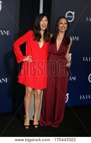 LOS ANGELES - DEC 6:  Nicole Wolf, Cheryl Burke at the