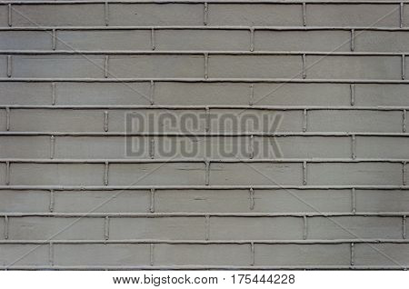 Texture of decorated gray plaster wall surface