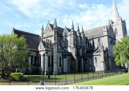St Patrick's Cathedral, Church, Dublin, Ireland, Europe