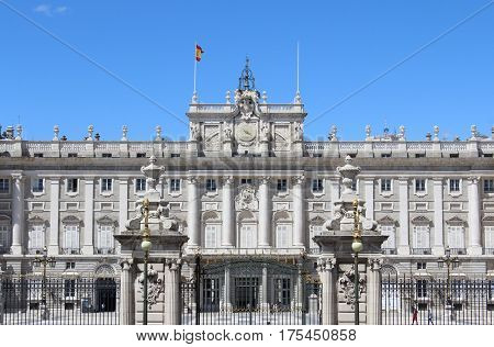 Palacio Real, Royal Palace, Madrid, Spain, Historical Building