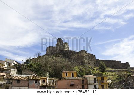 Old Norman's Castle, and Medieval City, Lamezia Terme, Calabria, Italy