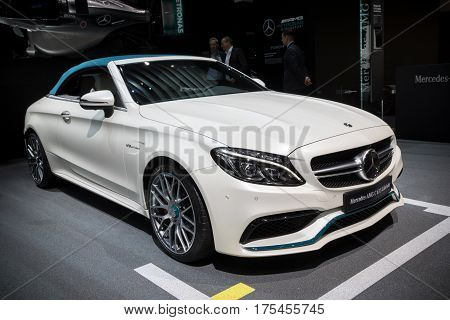 Mercedes-amg C 63 S Cabriolet Car