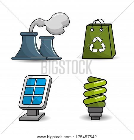 reduce, reuse and recycle icon, vector illustration design image