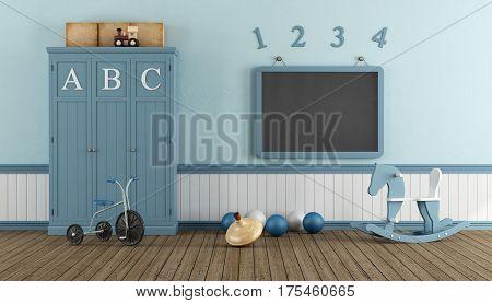 Retro Child Playroom