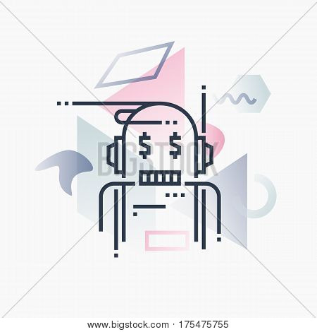 Robo Advisor Futuro Illustration.