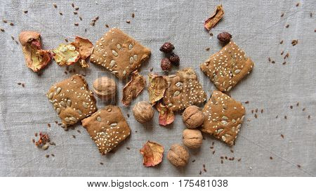 Authentic cookies made by hands organic good for health