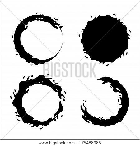 contour bubbles of wine icon image, vector illustration design stock