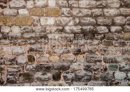 Stone Wall Surface As A Background  Texture