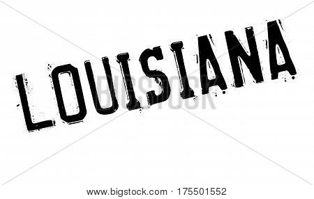 Louisiana rubber stamp. Grunge design with dust scratches. Effects can be easily removed for a clean, crisp look. Color is easily changed.