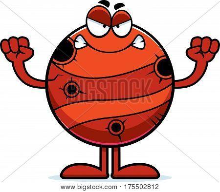 Angry Cartoon Mercury