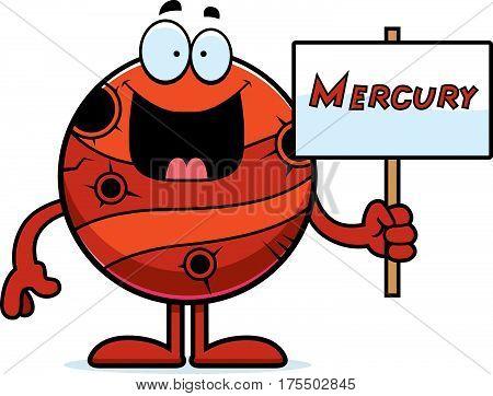 Cartoon Mercury Sign