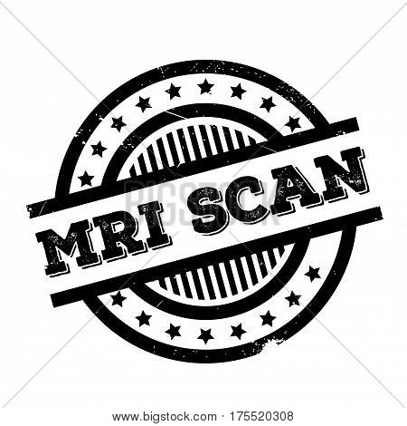 Mri Scan rubber stamp. Grunge design with dust scratches. Effects can be easily removed for a clean, crisp look. Color is easily changed.