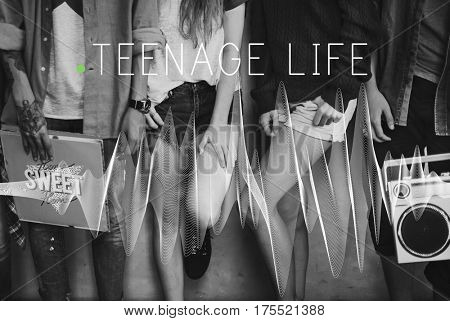 Teenage Life Personality Culture Lifestyle