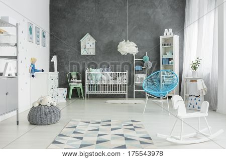 Scandi Style, Spacious Child Room