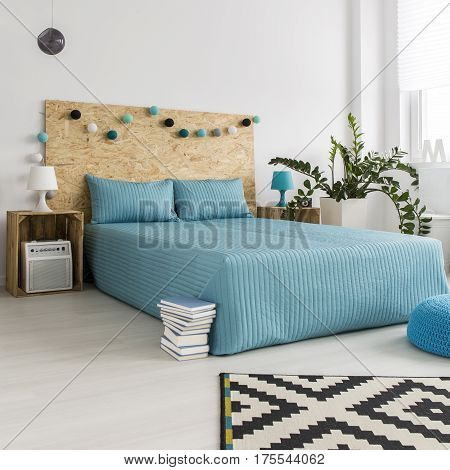 Bedroom With Diy Hipster Furnitures