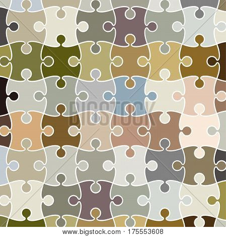 Vector puzzle pattern can be used a background