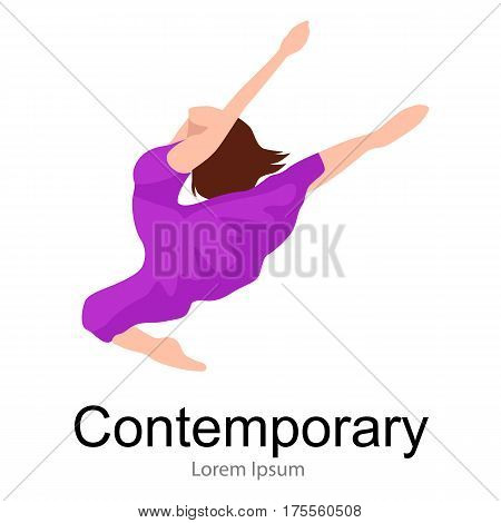 contemporary dancer, elegance dance, young girl jumping in dance, beautiful modern moving activity, active woman, ballet girl performance, good gymnastic stretching,