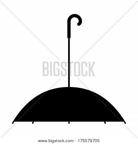 Pet umbrella ( shade picture ) on white