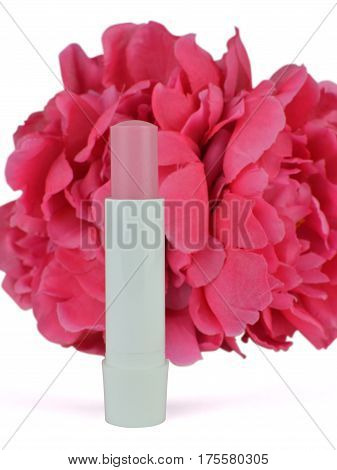 Lip Balm With Artificial Flower