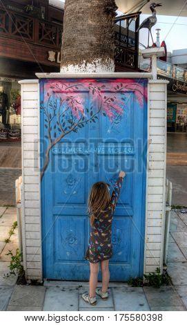 Streetlife At Turkey's Holiday Destination Bodrum