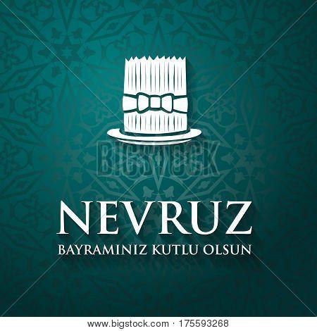 Nowruz Greeting. Iranian New Year.