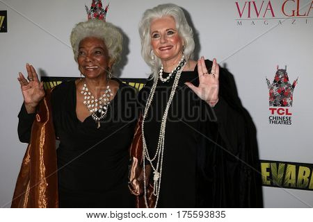 LOS ANGELES - SEP 7:  Nichelle Nichols, Celeste Yarnall at the
