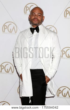 LOS ANGELES - JAN 28:  Anthony Hemingway at the 2017 Producers Guild Awards  at Beverly Hilton Hotel on January 28, 2017 in Beverly Hills, CA