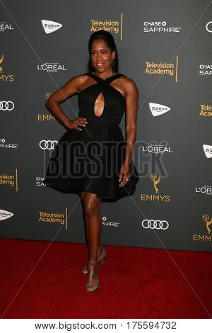 LOS ANGELES - SEP 16:  Regina King at the TV Academy Performer Nominee Reception at the Pacific Design Center on September 16, 2016 in West Hollywood, CA