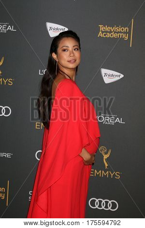 LOS ANGELES - SEP 16:  Michelle Ang at the TV Academy Performer Nominee Reception at the Pacific Design Center on September 16, 2016 in West Hollywood, CA