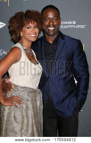 LOS ANGELES - SEP 16:  Ryan Michelle Bathe, Sterling K. Brown at the TV Academy Performer Nominee Reception at the Pacific Design Center on September 16, 2016 in West Hollywood, CA