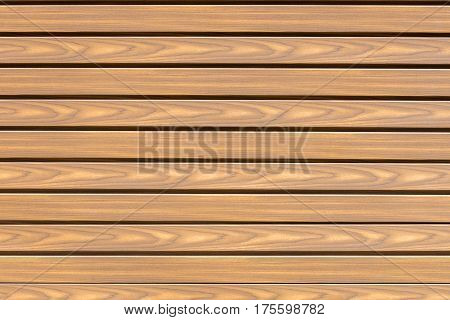 image of panel of wooden slats close-up
