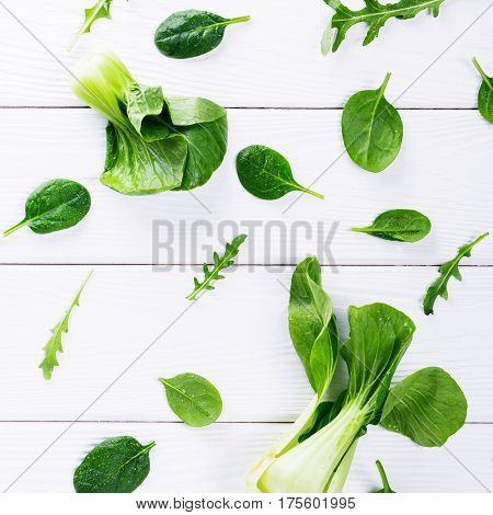 Green Vegetables And Leaves