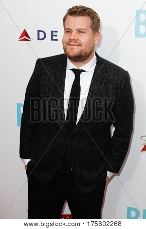 NEW YORK-JUNE 25: Talk show host James Corden attends the 'Begin Again' premiere at SVA Theater on June 25, 2014 in New York City.