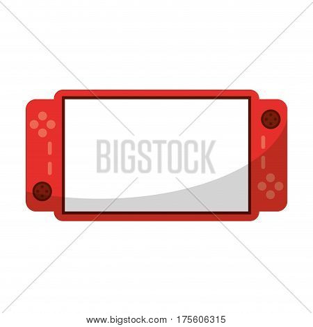 video game console portable vector illustration eps 10