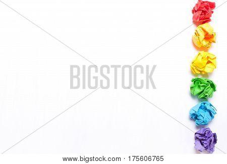 Background LGBT characters.Concept LGBT flag. Rainbow flag.