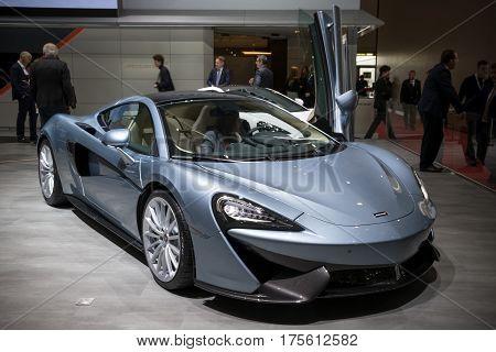 Mclaren 570 Gt Sports Car