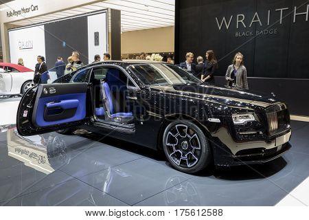 Rolls-royce Wraith Black Badge Car