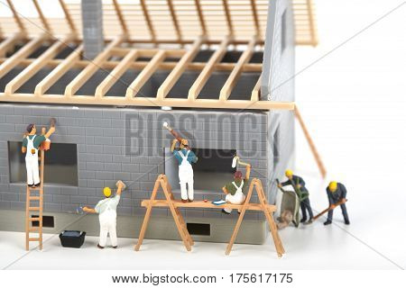 Construction Of Cottage