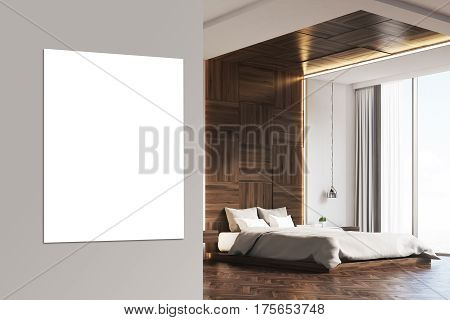 Bedroom With Picture, Wood, Close Up