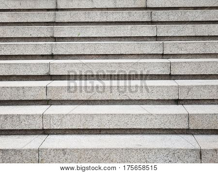 Modern outdoor stairs