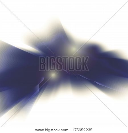 Vector blue smooth blurry texture background. Abstract shining element.