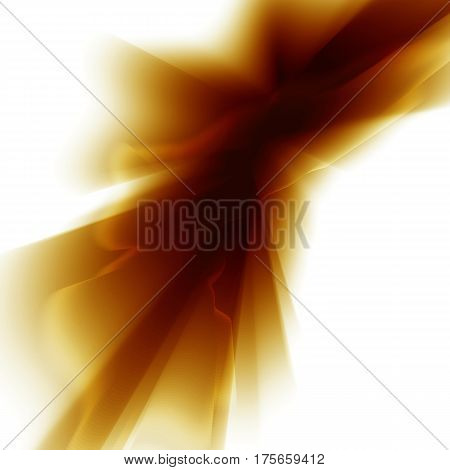 Vector yellow smooth blurry texture background. Abstract shining element.