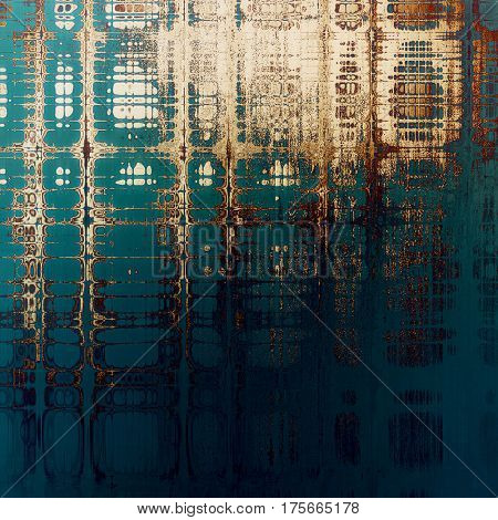 Highly detailed grunge background or scratched vintage texture. With different color patterns: yellow (beige); brown; blue; cyan; white