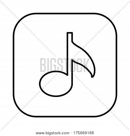figure symbol music icon, vector illustraction design image