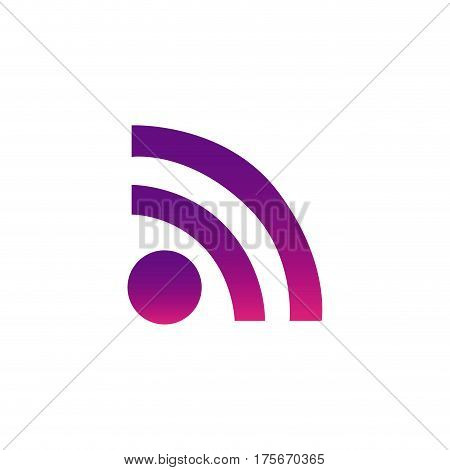 purple wife red icon, vector illustraction design image