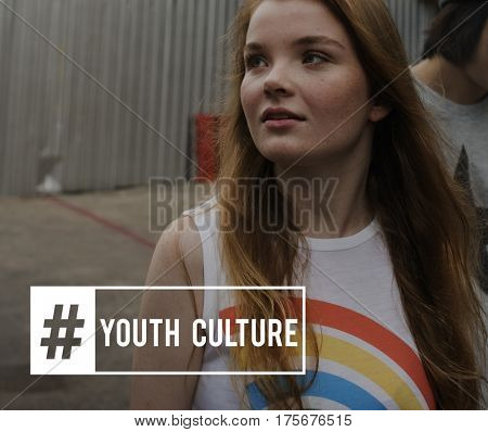Young People Attitude Youth Power