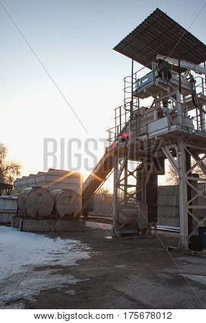 Small Concrete Batching Plant
