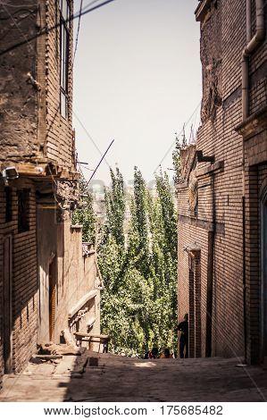 Kashgar Street Scene